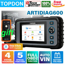 Topdon Obd2 Scanner Tpms Reset Code Reader Airbag Abs Diagnostic Tool Autovin