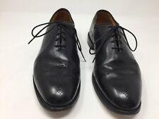 Allen Edmonds 9 D Fairfax Black Wholecut Leather Calf Dress Shoes Lambskin