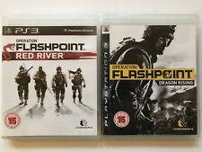 PS3 Games Operation Flashpoint Dragon Rising+Operation Flashpoint Red River -574