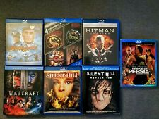 Spawn, Street Fighter, Mortal Kombat + 7 other video game based movies - Blu-ray