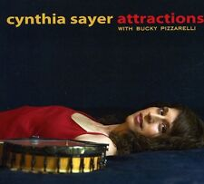 Cynthia Sayer - Attractions: With Bucky Pizzarelli [New CD]