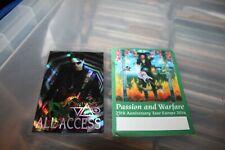Steve Vai - 2 x Unused Backstage Pass - One laminated - Free Postage -
