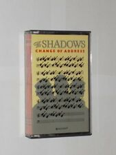 The Shadows Change Of Address.12 Track Cassette Album. Paper Labels.Play Tested.