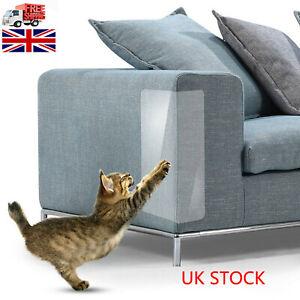 4 x Cat Couch Protector Anti-Scratch Post Guard Self-adhesive Tape Furniture