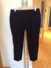 Cotton Plus Size Tailored Trousers for Women