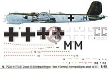 Peddinghaus 1/48 He 177 A-5 w/FuG 220 Markings 4./KG 40 Bordeaux-Merignac 2363a