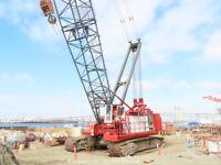 Link-Belt LS-718 250-Ton Lattice Crawler Crane 200' Boom Tier 4 CAT bidadoo