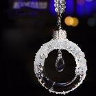 Kristall Pendel Auto Rückspiegel Anhänger Strass Hängend Ornament