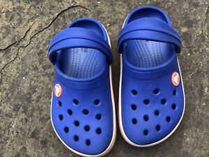 CROCS Infant Size C9 UK 9 (EUR 25-26) Navy Blue: 100% Genuine:Unisex- Excellent!