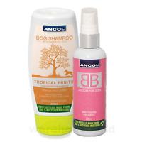 Ancol BB Dog Cologne & 200ml Tropical Fruits Dog Shampoo