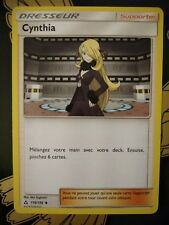 Carte Pokemon Dresseur Cynthia 119/156 Commune Ultra Prisme sl5