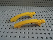 Lego 2 x Bogenstein Brücke 50967 gelb 8x1x1  8143 8107 8169 8131