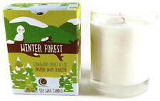 Vermont Soy Way Out Wax Candle~Winter Forest (Holiday) Clear Glass Tumbler 6 oz