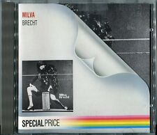 MILVA CD MILVA/BRECHT © 1986 Metronome # 825 964-2 chanson POP VOCAL