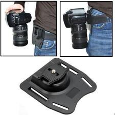 Portable 1/4 Quick Release Waist Belt Buckle Strap Hanger Holder for DSLR Camera