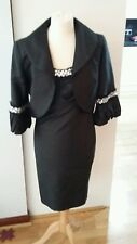 "Stunning ladies 2 piece ""MICHEL AMBERS"" suit size 10 black"