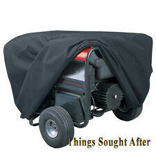 LARGE BLACK COVER for PORTABLE GENERATOR Home RV Dust Rain Storage Electric Gas