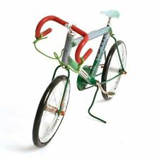 RACING BIKE MODEL made from RECYCLED TIN CANS bicycle fair trade Madagascar NEW!
