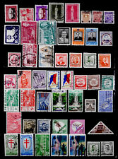 PHILIPPINES: 1950'S STAMP COLLECTION WITH SETS