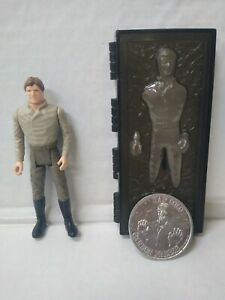 Vintage Star Wars Kenner ACTION FIGURE HAN SOLO IN CARBONITE Complete with Coin