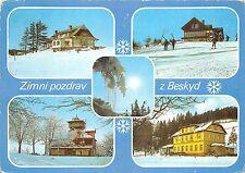 B45270 Beskydy winter landscapes ski sky multiviews   czech