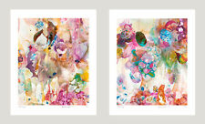 Amanda Krantz - THE STELLA SERIES - 2 prints each 36cm x 44cm IKEA frame ready