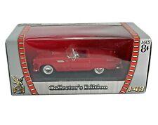 Diecast 1:43 Road Signature 1955 Ford Thunderbird Red in Original box