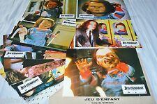 Child's Play 1 JEU D'ENFANT chucky  ! rare  jeu 12 photos lobby cards horreur