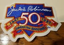 JACKIE ROBINSON 50th ANNIVERSARY COMMEMORATIVE MLB PATCH *REAL NICE*