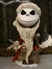 "Nightmare Before Christmas ""Santa Jack"" Mini Head Knocker by NECA RARE HALLOWEEN"