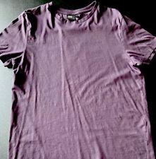 Bundle Of 2 ASOS Men's Shirts Size Large Purple/Grey Excellent Condition NICE