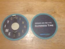 Guinness Time Beermat/Coaster Sous Bock. New. Nice Collectors Item.