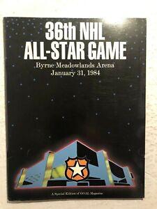 1984 NHL ALL STAR GAME Program Byrne Arena Meadowlands WAYNE GRETZKY Messier