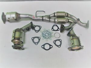 Fits: 2004-2006 Nissan Maxima 3.5L Catalytic Converters Set 5 SPEED TRANSMISSION