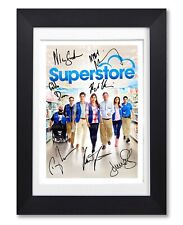 SUPERSTORE CAST SIGNED POSTER TV SHOW SEASON SERIES PHOTO AUTOGRAPH GIFT
