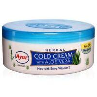 Ayur Herbal Cold Cream With Aloe Vera Extra VitaminE 200 ml Softens skin