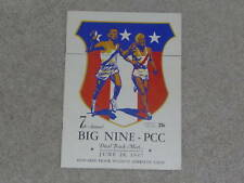 1947 BIG NINE COLLEGE TRACK AND FIELD PROGRAM