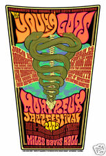 Montreux Jazz Festival POSTER 2005 Young Gods Fantomas Firehouse Sperry Donovan