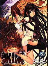 KURO KAMI   BLACK GOD    MANGA  N° 2     EDITIONS  I-OON