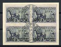 Deutsches Reich 4er Block MiNr. 260 Briefstück Fotoattest Dr. Oechsner (XXX