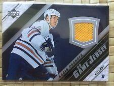 2005-06 Upper Deck series ll Chris Pronger game Jersey Edmonton Oilers #J2-CP