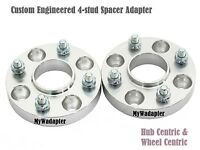 Wheel Spacer Adapters 15 mm 4x114.3 To 4x100 Conversion Hub Centric 2 PCS
