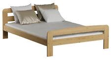 Kieferbett Massivholzbett Einzel Bettrahmen 140x200cm flexibles Lattenrost Bett