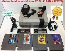 Nintendo NES Console System Bundle NEW PIN Games Super Mario Bros. 1 2 3 TETRIS
