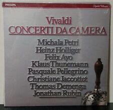 Vivaldi: Concerti da Camera/Petri/Holliger/Ayo 2LP Philips R215140 Sealed NEW