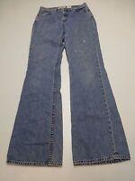 GAP Jeans Womens Size 8L Flare Blue Jeans Fair Condition