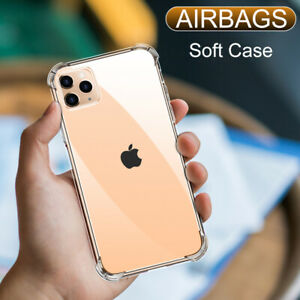 Shockproof Silicone Phone Case For iPhone 12 11 Pro Xs Max X Xr 6s 7 8 Plus case