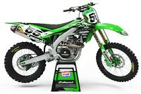 Graphics Kit to fit: KAWASAKI KX KXF 85 125 250 450 500 models 1994-2020