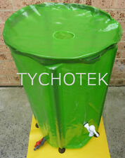 Rainwater tank doubles as composting bin 160 litres strong UV proof 4wd camping