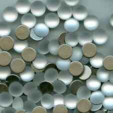 2080/4 Ss34 Cfr* 12 Strass Swarovski fond plat 7 15mm Crystal Frosted